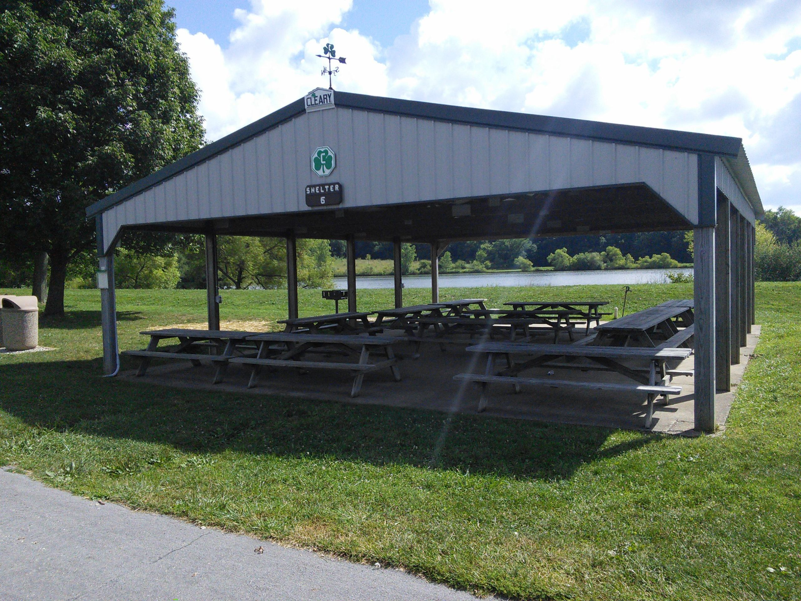 A Licking Park District shelter