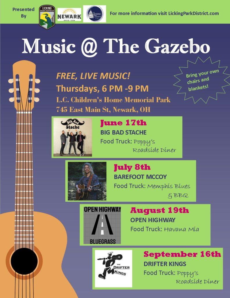 Music @ The Gazebo pamphlet